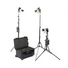 3-Head Portable Studio Light S-2053 Kit